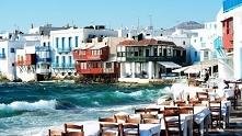 Grecja, wyspa Mykonos. Zapraszamy na puzzle :)