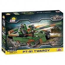 Klocki Cobi Mała Armia 535 elementów PT-91 Twardy Polski czołg podstawowy