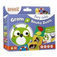 Gra edukacyjna Zielona Sowa Gram z Sówką Zuzią: Pory Roku