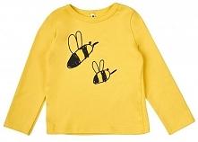 Garnamama Dziecięca Bluzka Z Pszczołą, 68, Żółta