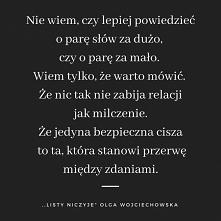 Cisza...