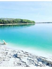 Jezioro Lazurowe, woj. Wiel...