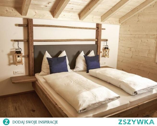 Sypialnia W Drewnie Na Wystrój Wnętrz Zszywkapl