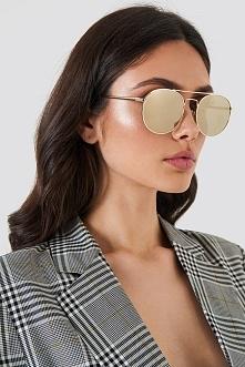 Le Specs Okulary przeciwsłoneczne Revolution - Gold