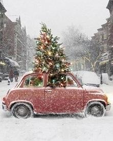 Samochód przygotowany na Święta! ;)
