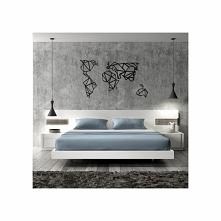 Dekoracja ścienna z metalu WORLD firmy FLOXXY to mapa świata. Oryginalna i świetna propozycja dekoracyjna na ścianę do mieszkania czy biura, która fantastycznie odmieni wnętrze....