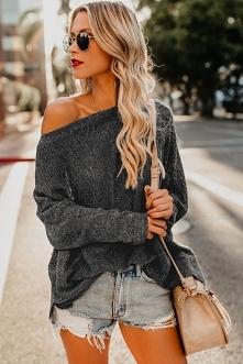 Sweterek Lillian Black z noshame.pl
