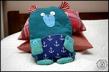 miś - poduszka - T-Bags