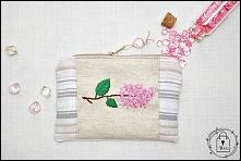 kosmetyczka z haftem - T-Bags