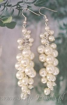 kolczyki biżuteria z perełkami
