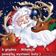 Wesołych Mikołajek kochane ...