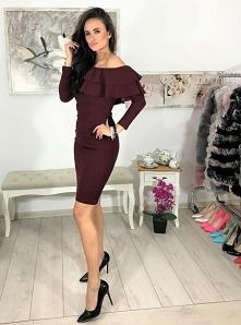 Sukienka hiszpanka midi