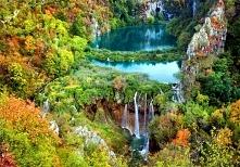 Park Narodowy Jezior Plitwickich, Chorwacja. Puzzle po kliknięciu w obrazek, ...