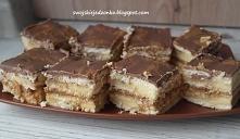 Ciasto Snickers bez pieczeni