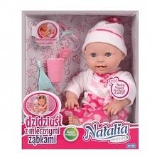Lalka Natalia bobas z mlecznymi ząbkami