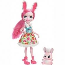 Lalka Enchantimals Bree Bunny ze zwierzątkiem DVH87/DVH88