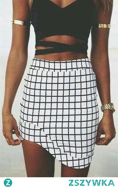 Spódniczka w kratkę! Checkered skirt ;)