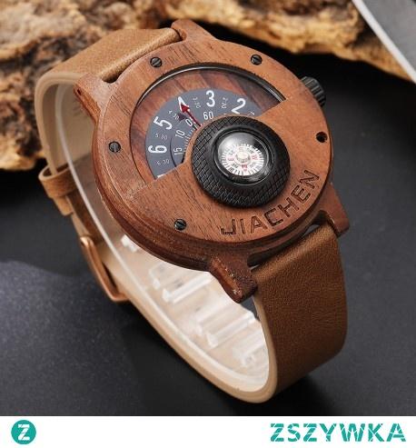 Nietuzinkowy Drewniany Zegarek z KOMPASEM -> Kliknij w zdjęcie, by dowiedzieć się więcej -> CzasNaZegarki.pl
