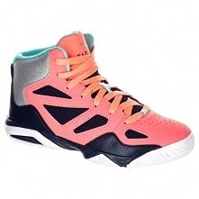 Buty Shield 300 Do Koszykówki Dla Dzieci Niebiesko-Różowe
