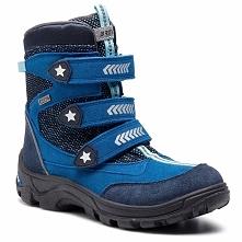 Śniegowce BARTEK - 47231-FSE Niebieski