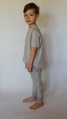 T-shirt szary rozmiar 2/3