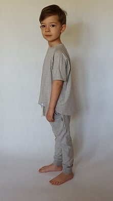 T-shirt szary rozmiar 10/11