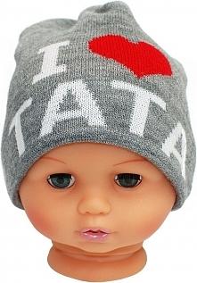 Czapka niemowlęca z napisem tata CZ 160A