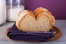 Pełnoziarnisty chleb sodowy