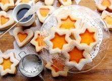 Pomarańczowe ciasteczka z g...