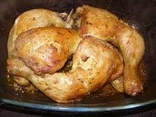 uda kurczaka z curry pieczone w rękawie