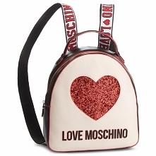 Plecak LOVE MOSCHINO - JC4116PP17L3100A  Nero/Avorio