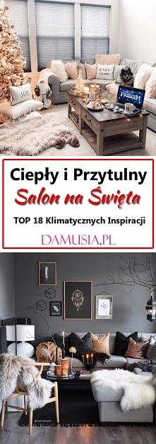 Ciepły i Przytulny Salon na...