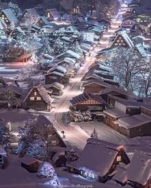 Zima w Shirakawago, Japonia ❄️