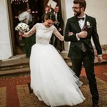 Suknia Ślubna z koronki 3D uszyta   przez Baronetkę