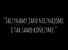 Nieznajomi...