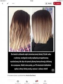 sposób na zniszczone włosy