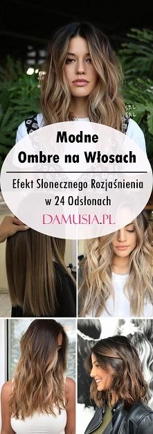 Modne Ombre na Włosach – Ef...