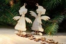 Aniołki zimowe – zestaw 2 s...