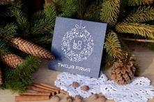 Kartka świąteczna – wianusz...