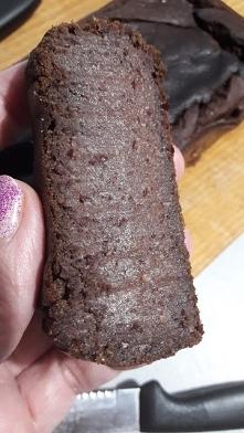 Brownie z fasoli, bez glute...