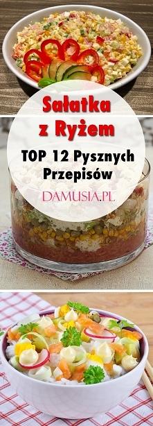 Sałatka z Ryżem: TOP 12 Pys...