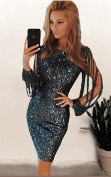 Sukienka Samantha Black z noshame.pl (klik w zdjęcie, by przejść do sklepu)
