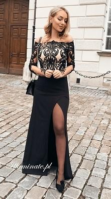 Długa sukienka na studniówk...
