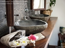 Countertop River Stone Sink...