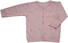 EKO Sweter Dziewczęcy 92 Jasnoróżowy