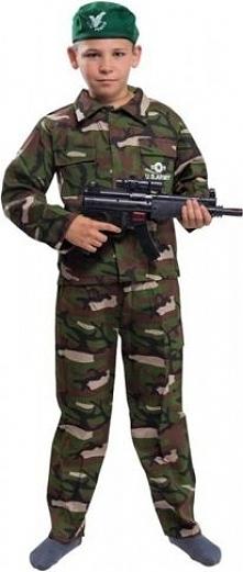 Żołnierz  Super 110/116 - kostiumy dla dzieci, odgrywanie ról