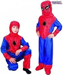 Człowiek Pająk Spiderman - kostiumy dla dzieci