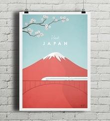 Japonia - vintage plakat