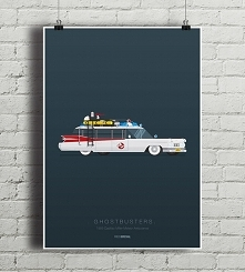 Ghostbusters - Cadillac - plakat