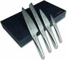 Nóż kucharza 20 cm, nóż kucharza 14,2 cm, nóż do pieczywa i do obierania Type...